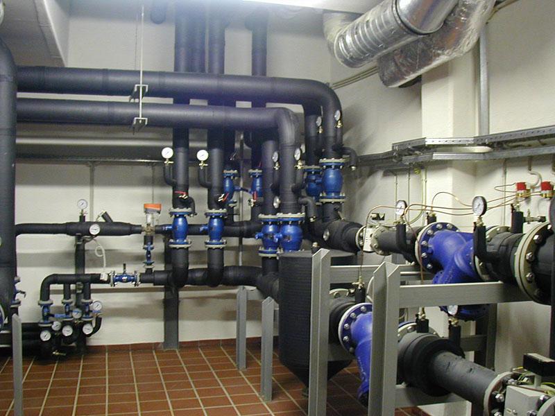 Монтаж и ремонт индивидуальных тепловых пунктов (ИТП)
